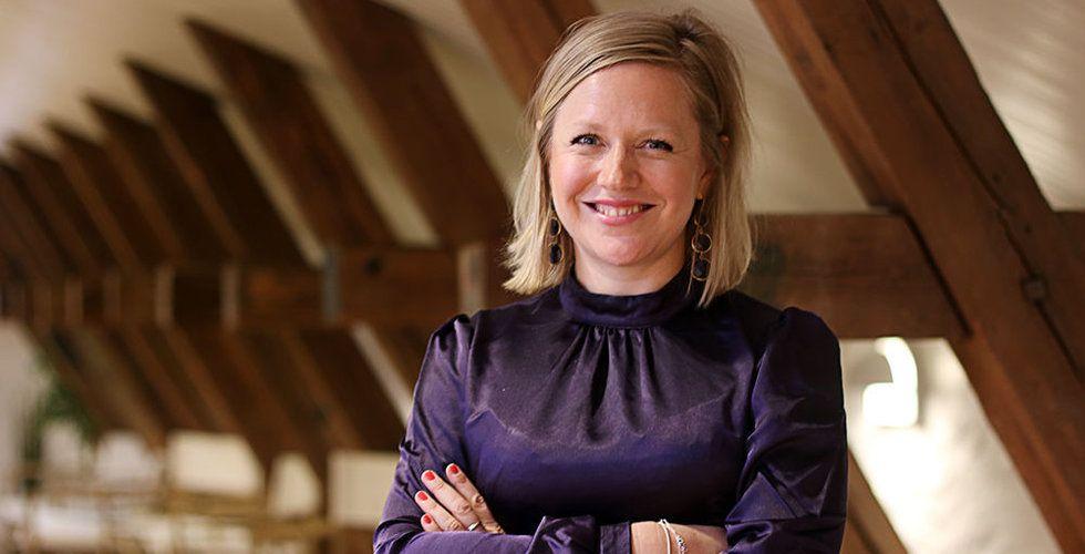 Hon lämnade investmentbanken i London för det osäkra startuplivet