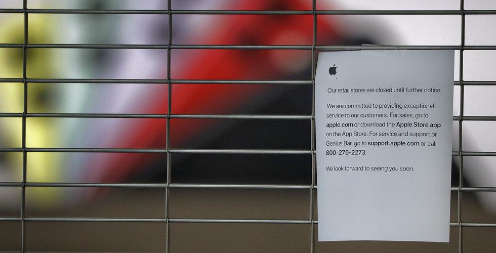 Apple börjar öppna butiker igen – tar temperaturen på kunder