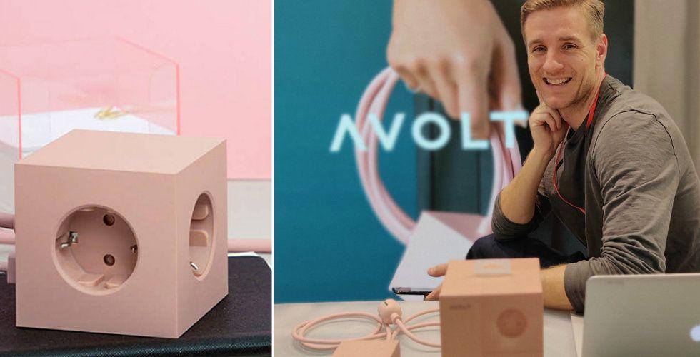 Tröttnade på fula kontakter – nu erövrar hans svenska design Avolt världen