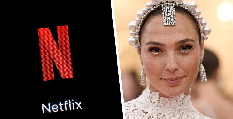 Netflix satsar nästan 5 miljarder på 3 nya storfilmer