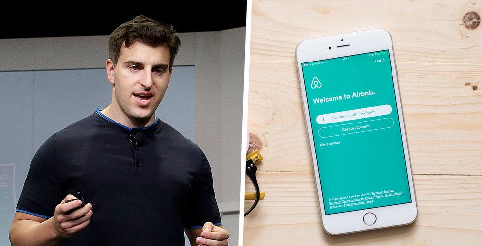 Airbnb ansöker om börsnotering i augusti – kan börja handlas före årsskiftet