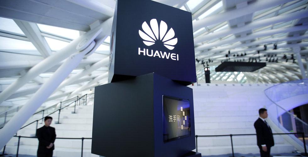 Huawei rusar förbi Apple i antalet sålda smartphones