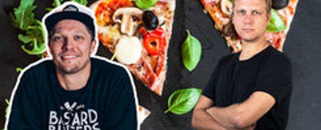 Burgarkungen bjöd på sin bästa affärsidé – pizza är grejen!