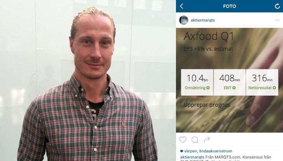 Breakit - Svensk startup vill få dig att hålla koll på aktier – via Instagram