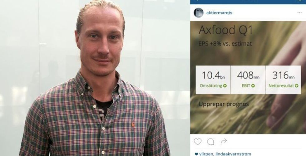 Svensk startup vill få dig att hålla koll på aktier – via Instagram