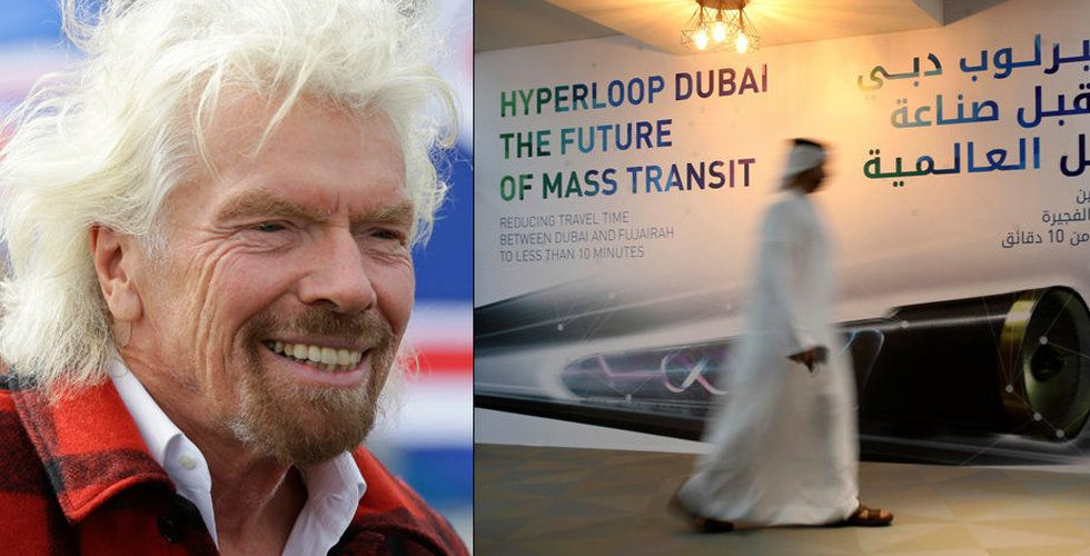 Breakit - Richard Bransons Virgin Group investerar i Hyperloop One