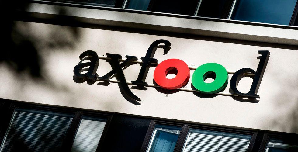 Näthandeln pressar Axfoods marginaler