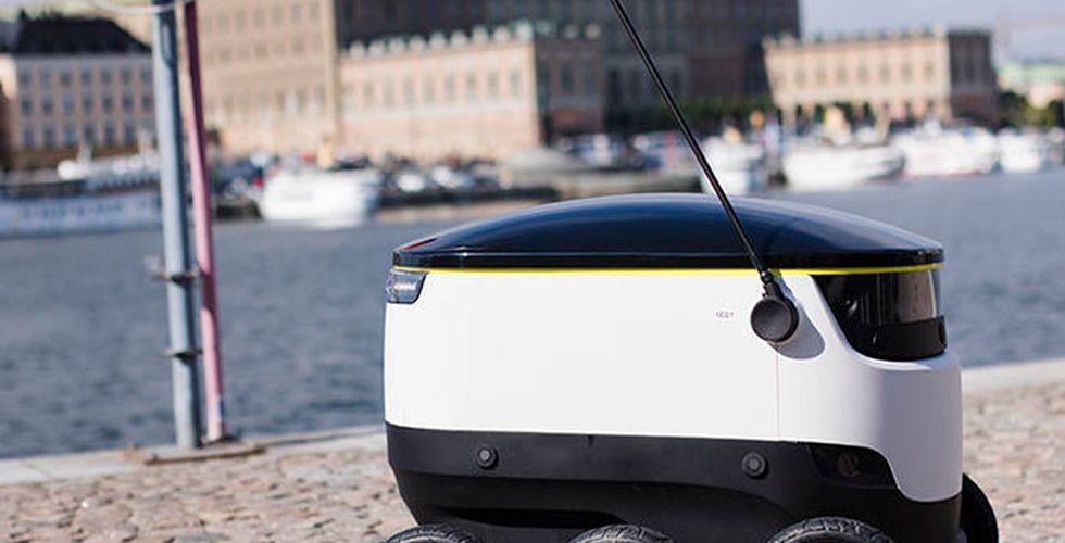 Se Skype-grundarens budrobot rulla på Stockholms gator