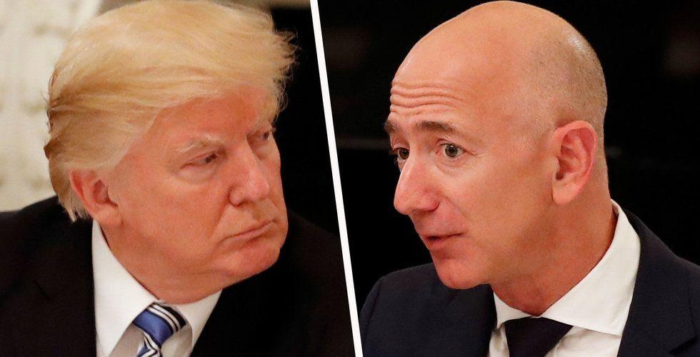 Trump uppges vara besatt av Amazon och att reglera e-handelsjätten på konkurrensskäl
