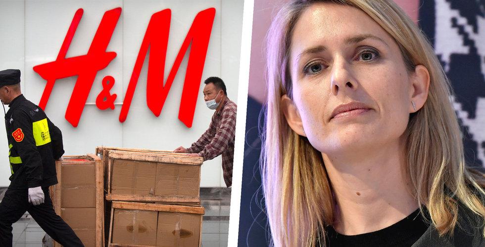 H&M har nu bara 5 procent av butikerna stängda