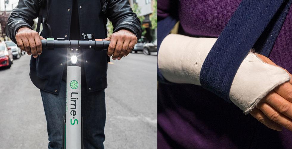 Limes elscooter tvärtnitar mitt i farten – nu stoppas de i hela staden