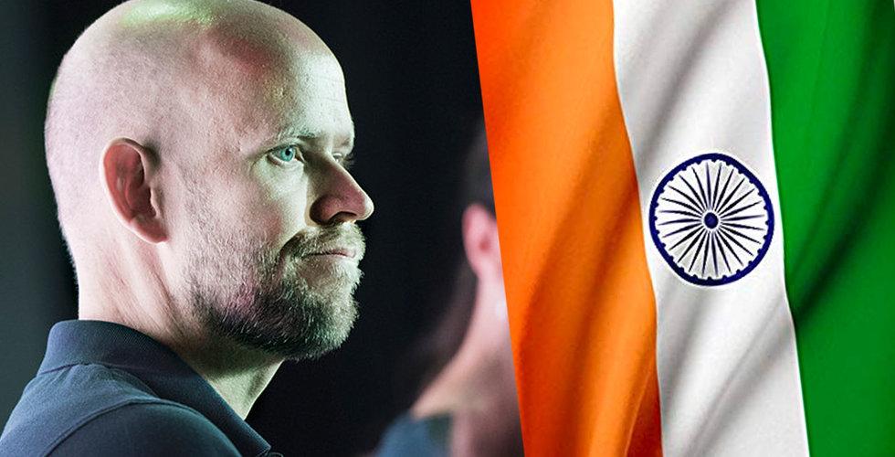 Fyra dagar efter lanseringen – så många användare har Spotify i Indien