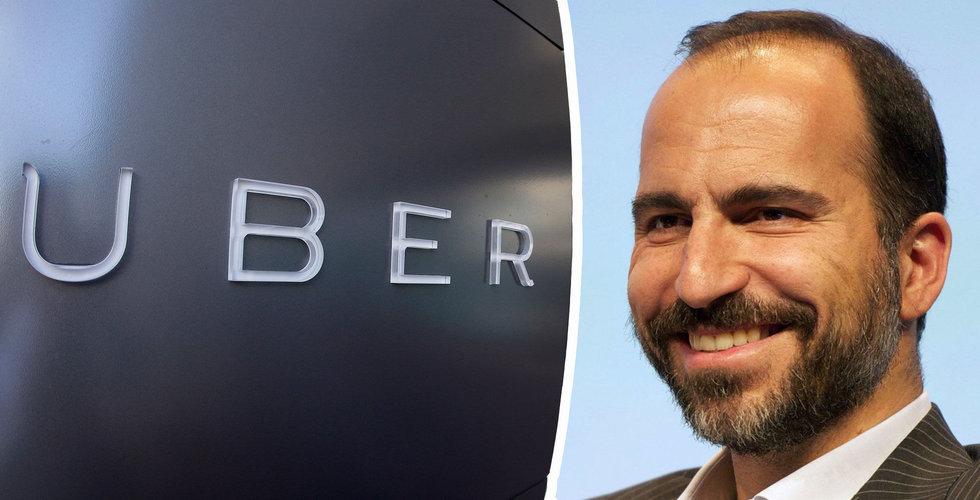 Uber planerar att göra sig av med var femte anställd
