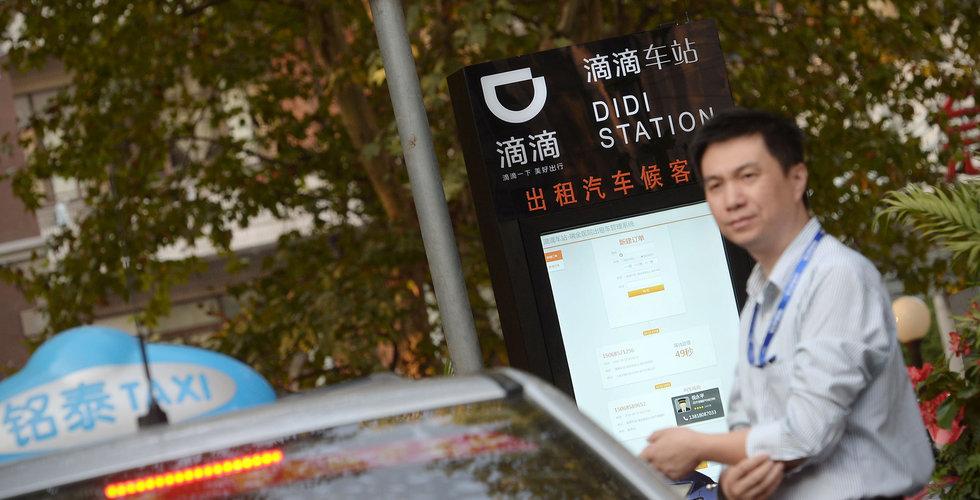 Daimler och Geely startar taxiapptjänst i Kina