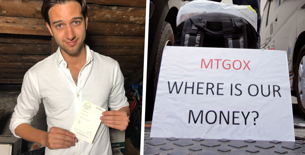 Eric Wall förlorade allt – när världens största bitcoinbörs Mt. Gox hackades