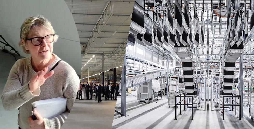 """Dagmar satte foten på fel ställe i Zalandos nya lager: """"Jag for iväg 50 meter"""""""