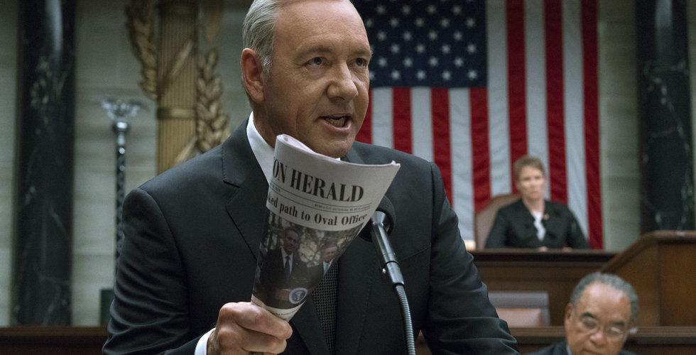 Breakit - Nu skrotar Netflix succéserien House of Cards