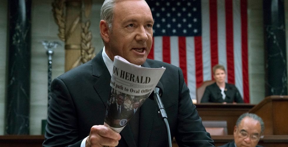 Nu skrotar Netflix succéserien House of Cards