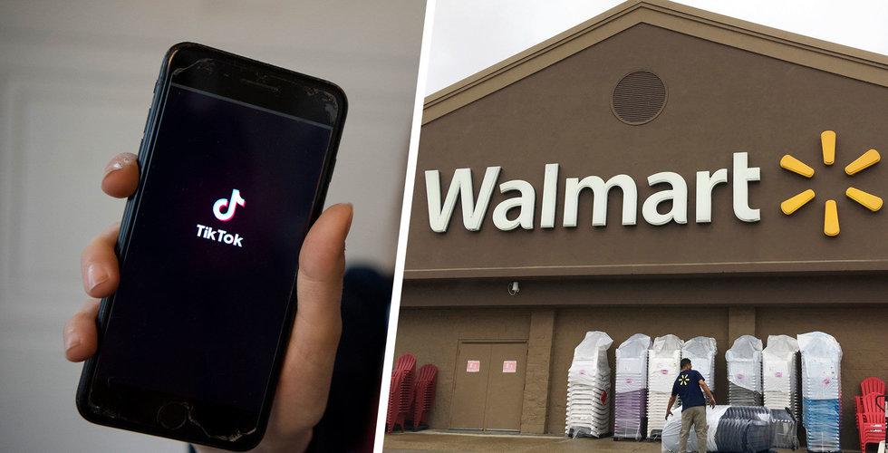 Walmart vill köpa Tiktok tillsammans med Microsoft