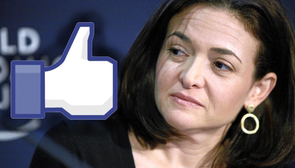 Breakit - Sheryl Sandberg följer i chefens fotspår - ger bort 265 miljoner