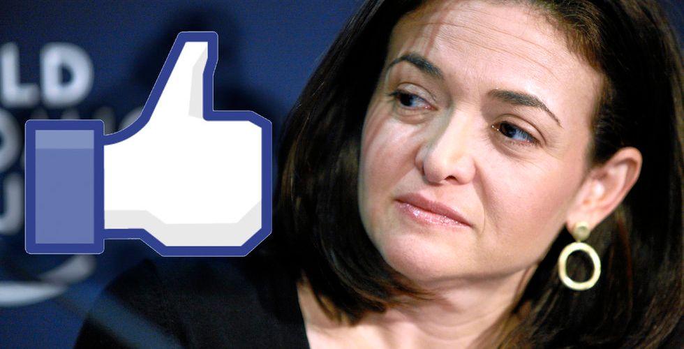 Sheryl Sandberg följer i chefens fotspår - ger bort 265 miljoner