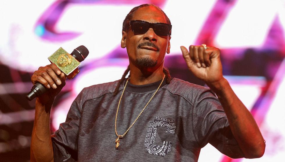 """Snoop Doggs galna hälsning till """"Notch"""": Kom hem till mig och rök"""