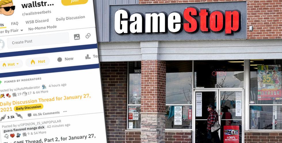 Wallstreetbets fick Gamestop att rusa – har fått 2 miljoner nya medlemmar på ett dygn