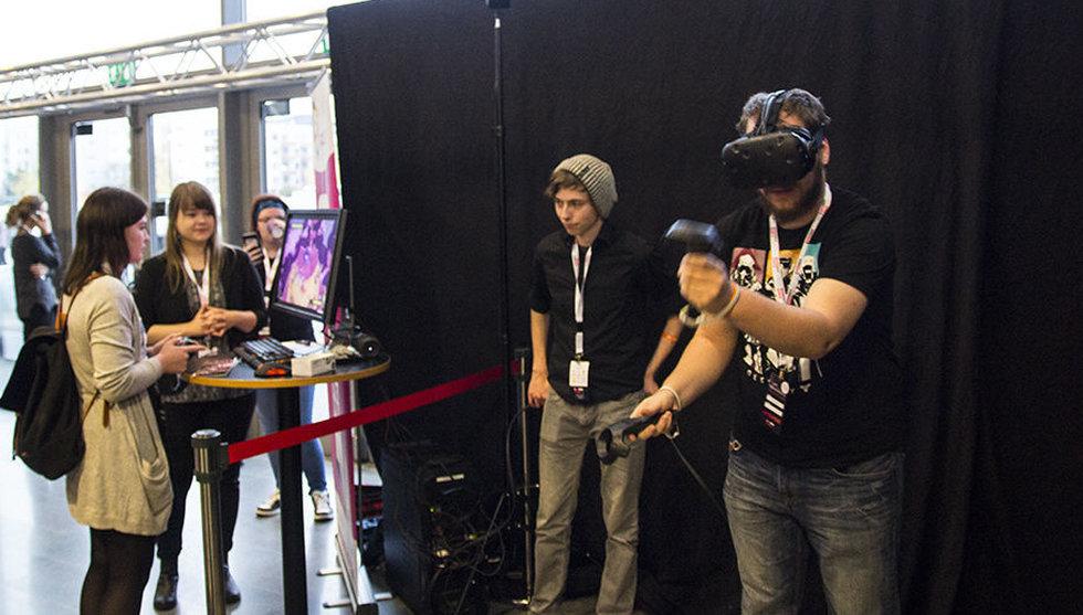 VR stekhett på årets Sweden Game Conference i Skövde