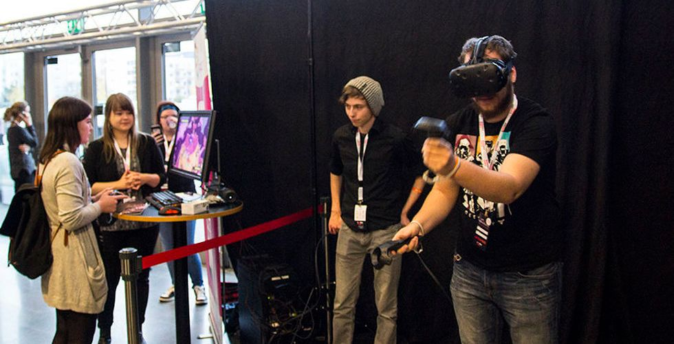 Breakit - VR stekhett på årets Sweden Game Conference i Skövde