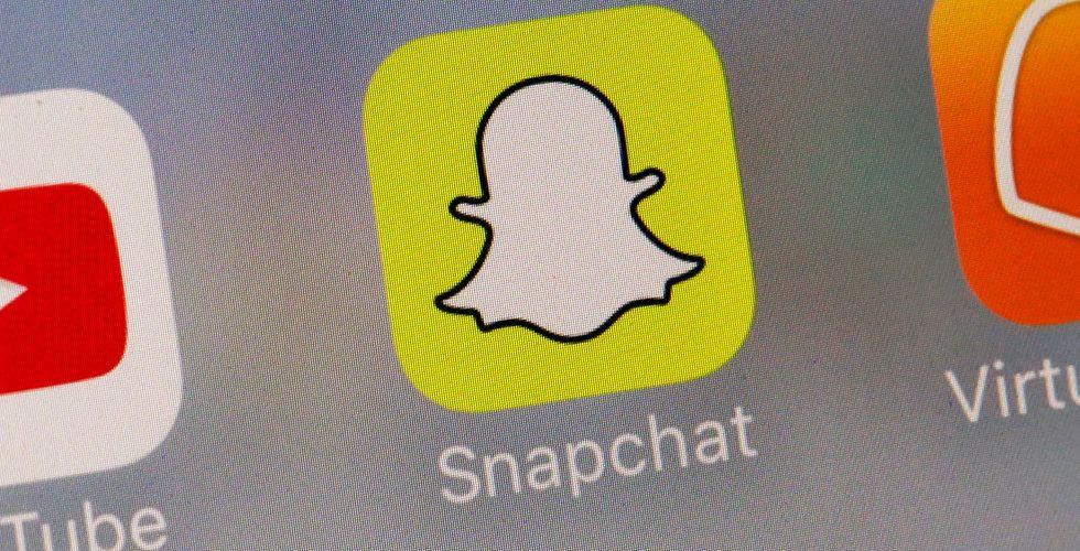 Snapchat tappar användare